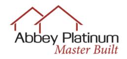 Abbey Platinum Master Built logo